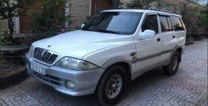 Bán Ssangyong Musso năm 2001, màu trắng, nhập khẩu nguyên chiếc, xe gia đình đi giá 110 triệu tại BR-Vũng Tàu