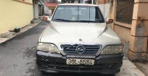 Bán xe Ssangyong Musso 2.3 MT đời 2004, màu vàng giá cạnh tranh giá 90 triệu tại Vĩnh Phúc