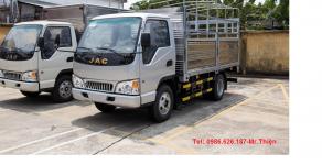 Bán xe tải JAC 2 tấn 4, máy Isuzu trả góp giá rẻ giá 350 triệu tại Tp.HCM