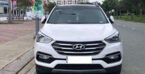 Bán Hyundai Santa Fe 2.2 CRDi sản xuất năm 2018, màu trắng giá 1 tỷ 158 tr tại Hà Nội