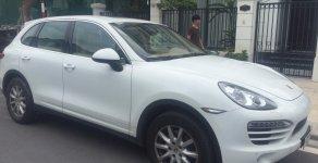 Bán xe Porsche Cayenne sản xuất 2014, màu trắng, nhập khẩu, giao dịch chính chủ giá 2 tỷ 650 tr tại Hà Nội