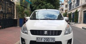 Cần bán lại xe Suzuki Ertiga đời 2015, màu trắng chính chủ, giá cạnh tranh giá 425 triệu tại Tp.HCM