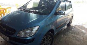 Bán Hyundai Getz đời 2009, màu xanh lam, xe gia đình giá 165 triệu tại Hòa Bình