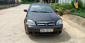 Cần bán xe Daewoo Lacetti EX 2008, màu đen giá 155 triệu tại Phú Thọ