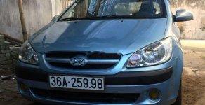 Gia đình bán Hyundai Getz đời 2008, màu xanh lam, nhập khẩu giá 179 triệu tại Thanh Hóa