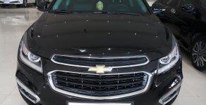 Bán xe Chevrolet Cruze LTZ 1.8AT đời 2017, màu đen, 420 triệu giá 490 triệu tại Tp.HCM