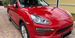 Bán Porsche Cayenne AT năm 2013, màu đỏ, nhập khẩu nguyên chiếc giá 2 tỷ 500 tr tại Tp.HCM