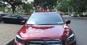 Subaru 2.5 Outback màu đỏ sản xuất 2015, nhập Nhật, biển Hà Nội giá 1 tỷ 130 tr tại Hà Nội