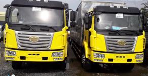 Bán xe tải FAW 7t2 thùng siêu dài 9m7, nhập khẩu nguyên chiếc giá 690 triệu tại Tp.HCM