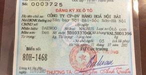 Bán Daewoo Magnus năm 2005, màu đen số tự động giá 98 triệu tại Hà Nội