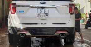 Bán xe Ford Explorer sản xuất năm 2018, màu trắng, nhập khẩu giá 2 tỷ 190 tr tại Tp.HCM