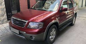 Cần bán Ford Escape 2005 tự động màu đỏ độc nhất Sài Gòn giá 216 triệu tại Tp.HCM