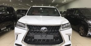 Bán Lexus LX570 màu trắng Super Sport Autobiography MBS 4 chỗ, 4 ghế Massage, 5 cửa hít, xe giao ngay giá 10 tỷ 510 tr tại Hà Nội