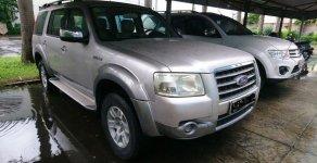 Cần bán lại xe Ford Everest sản xuất năm 2008, màu bạc, nhập khẩu nguyên chiếc giá 335 triệu tại Hải Phòng