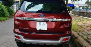 Bán Ford Everest Titanium 2.2L 4x2 AT 2017, màu đỏ, nhập khẩu giá 1 tỷ 50 tr tại Tp.HCM