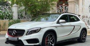 Bán ô tô Mercedes GLA 45 AMG 4Matic màu trắng sản xuất 2015 giá 1 tỷ 360 tr tại Tp.HCM