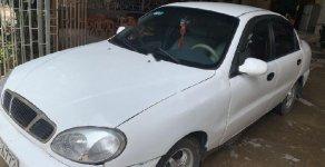 Cần bán gấp Daewoo Lanos SX đời 2002, màu trắng số sàn giá 60 triệu tại Nghệ An