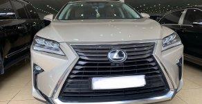 Bán Lexus RX 350 năm sản xuất 2017, màu vàng, đăng ký 2018, xe chạy ít, siêu đẹp giá 3 tỷ 630 tr tại Hà Nội