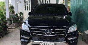 Cần bán Mercedes ML350 đời 2012, màu đen, xe nhập còn mới giá 1 tỷ 800 tr tại Tiền Giang
