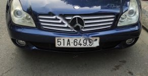 Xe Mercedes CLS 350 đời 2004, màu xanh lam, nhập khẩu   giá 468 triệu tại Tp.HCM