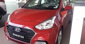 Xe gia đình + Chạy dịch vụ, Hyundai Grand i10 1.2 MT Base 2019, màu đỏ giá 340 triệu tại Hà Nội