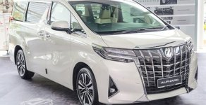 Cần bán xe hạnh sang Toyota Alphard Luxury đời 2019, màu trắng, giá cạnh tranh giá 4 tỷ 38 tr tại Tp.HCM