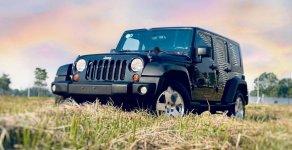 Bán xe Jeep Wrangler Sahara đời 2009, màu đen, xe nhập chính hãng giá 1 tỷ 599 tr tại Hà Nội