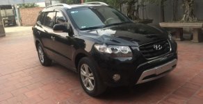 Bán xe Hyundai Santa Fe SLX sản xuất năm 2009, màu đen, nhập khẩu Hàn Quốc giá 630 triệu tại Hà Nội
