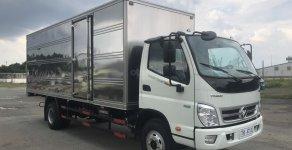 [ Thaco Trường Hải - CN Long Biên ] Cần bán xe Thaco Ollin 720 E4 thùng lửng đời 2019, màu trắng giá 500 triệu tại Hà Nội