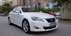 Cần bán lại xe Lexus IS 250 sx 2009, màu trắng, nhập khẩu nguyên chiếc số tự động, giá 869tr giá 869 triệu tại Hà Nội
