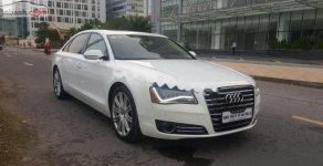 Cần bán lại xe Audi A8 L 4.2 2010, màu trắng, nhập khẩu nguyên chiếc giá 1 tỷ 620 tr tại Tp.HCM