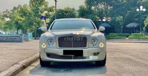 Bán Bentley Mulsanne đời 2010, màu kem (be), nhập khẩu nguyên chiếc giá 9 tỷ 299 tr tại Hà Nội