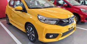 Bán nhanh chiếc Honda Brio RS đời 2019, màu vàng, nhập khẩu nguyên chiếc giá 448 triệu tại Đồng Nai