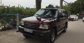 Cần bán gấp Isuzu Trooper sản xuất 2001, màu nâu, nhập khẩu, 88 triệu giá 88 triệu tại Hà Nội