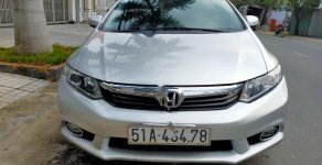 Bán Honda Civic năm sản xuất 2013, màu bạc xe gia đình giá 470 triệu tại Tp.HCM