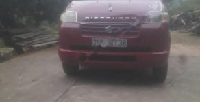 Cần bán xe cũ Suzuki APV GL 1.6 MT sản xuất 2007, màu đỏ giá 168 triệu tại Lạng Sơn
