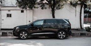 Bán nhanh chiếc xe hạng sang cỡ trung Peugeot 5008, sản xuất 2018, màu đen, giá ưu đãi giá 1 tỷ 349 tr tại Tp.HCM