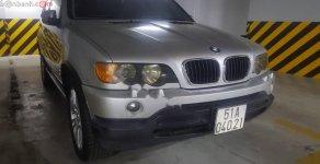 Bán BMW X5 đời 2003, màu bạc, nhập khẩu giá 350 triệu tại Tp.HCM