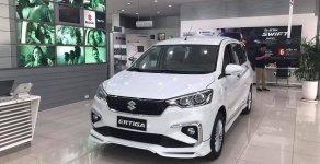 Bán ô tô Suzuki Ertiga GLX 4AT sản xuất năm 2019, màu trắng, nhập khẩu giá 549 triệu tại Tp.HCM