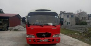 Cần bán xe Hyundai County đời 2004, màu đỏ giá 170 triệu tại Ninh Bình