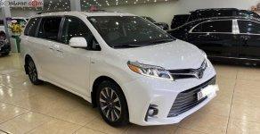 Bán ô tô Toyota Sienna 3.5 Limited năm sản xuất 2019, màu trắng, nhập khẩu như mới giá 3 tỷ 650 tr tại Hà Nội