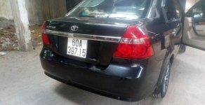 Xe Daewoo Gentra SX 1.5 MT sản xuất năm 2009, màu đen   giá 185 triệu tại Đồng Nai