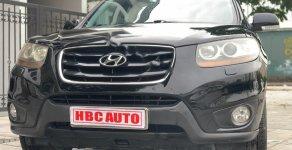 Xe Hyundai Santa Fe SLX năm 2009, màu đen, nhập khẩu nguyên chiếc giá 575 triệu tại Hà Nội