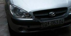 Cần bán gấp Hyundai Getz đời 2009, màu bạc   giá 136 triệu tại Thái Nguyên