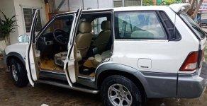 Bán xe Ssangyong Musso 2.3 2001, màu trắng, xe nhập, giá chỉ 112 triệu giá 112 triệu tại Quảng Nam