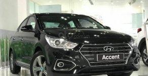 Hyundai Accent - Chuyên chạy kinh doanh dịch vụ: Phiên bản 1.4 MT đời 2019, màu đen giá 426 triệu tại Đà Nẵng