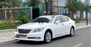 Bán Lexus LS 460 2008, màu trắng, xe nhập giá 1 tỷ 69 tr tại Hà Nội