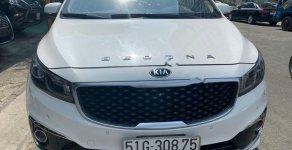 Bán Kia Sedona năm 2016, màu trắng, nhập khẩu xe gia đình giá cạnh tranh giá 860 triệu tại Tp.HCM