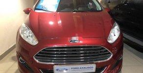 Cần bán lại xe Ford Fiesta 1.0 Ecoboost sản xuất 2014, màu đỏ giá 395 triệu tại Tp.HCM