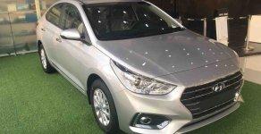 Bán nhanh chiếc xe Hyundai Accent 1.4 MT Base, sản xuất 2019, màu bạc - Giao nhanh tận nhà giá 425 triệu tại Tp.HCM